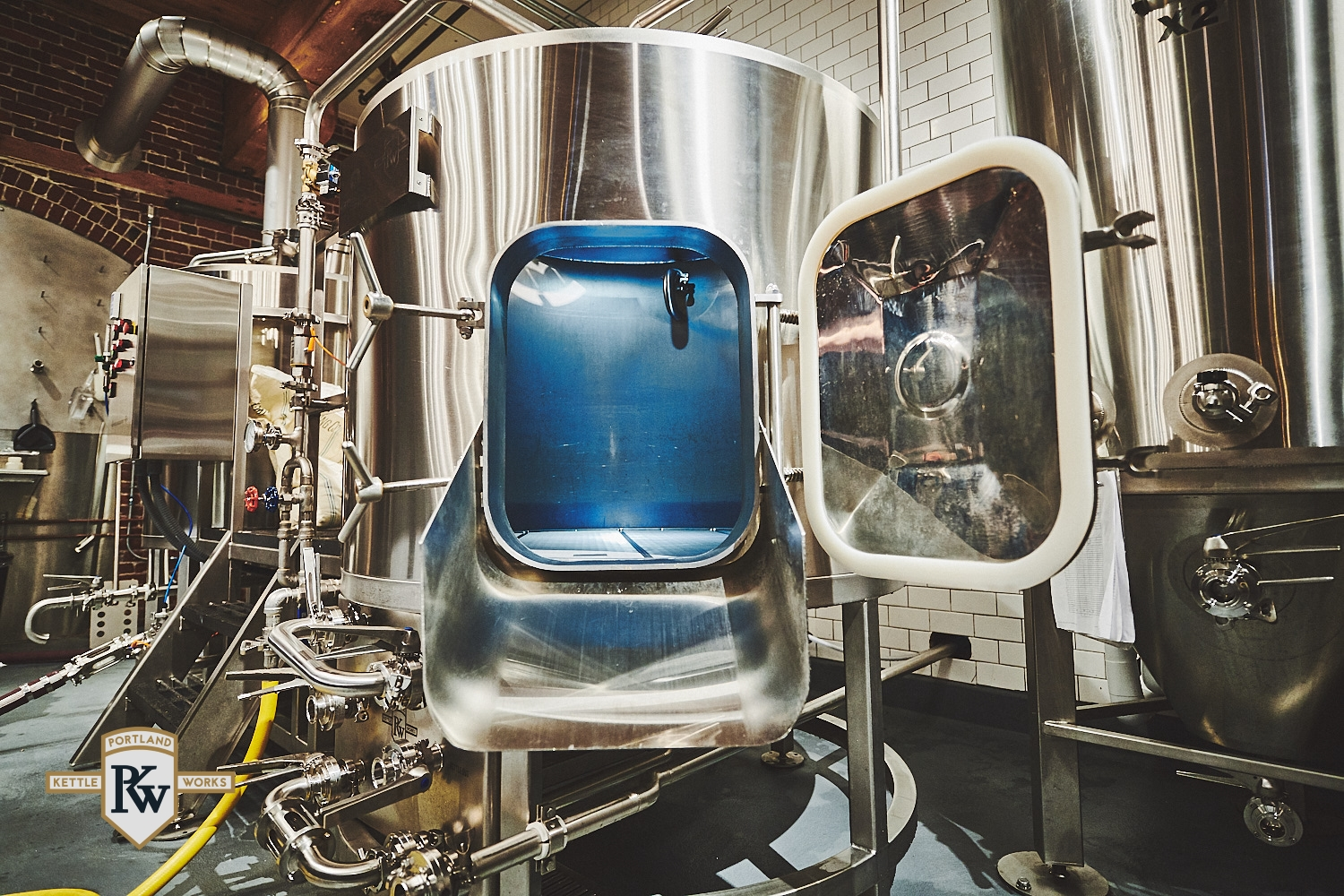 PKW Mash Tun with Brewery Whirlpool