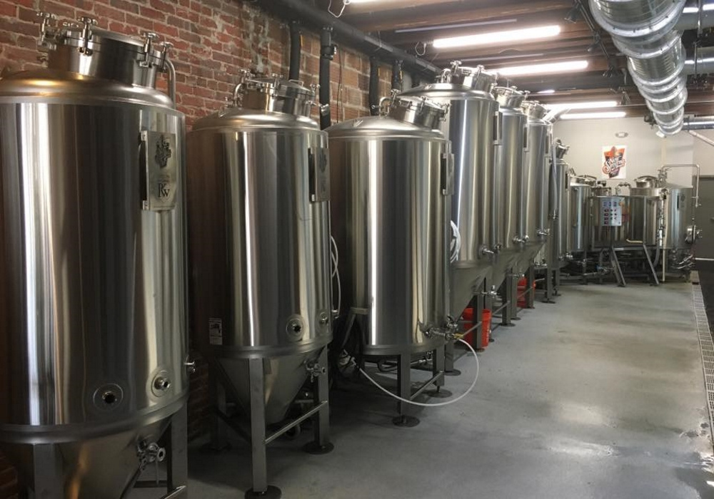 New Smyrna Beach Fermenters and Brite Tanks