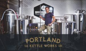 Thad Fisco with Brewhouse and PKW Logo