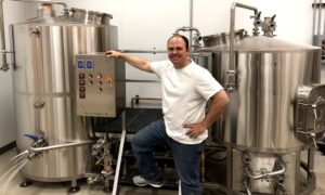 Raymond Miller, Brewmaster of Vizsla Brewing Made the Move From Homebrewer to Professional