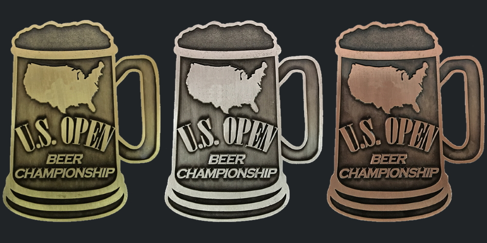 US Open Beer Championship - Gold Silver Bronze