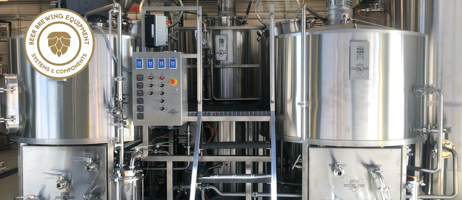 Beer Brewing Equipment from Portland Kettle Works