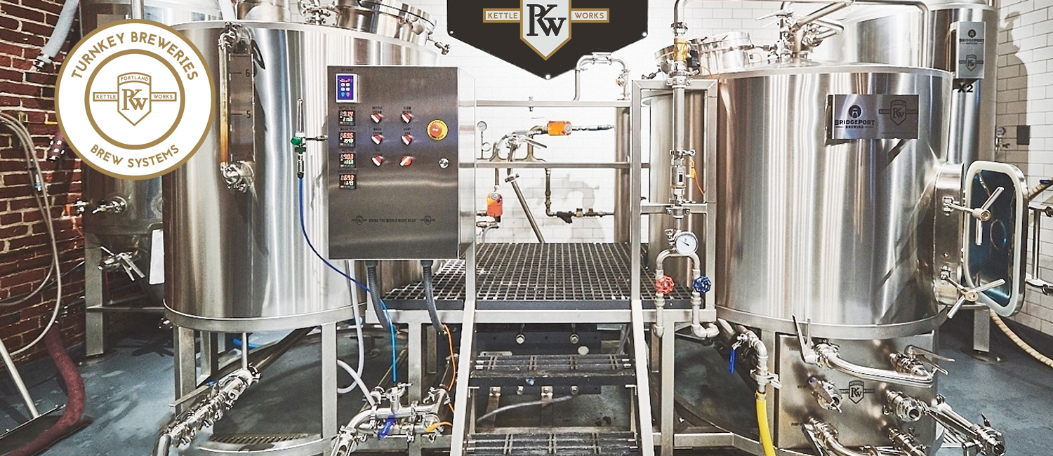 Turnkey Breweries from Portland Kettle Works