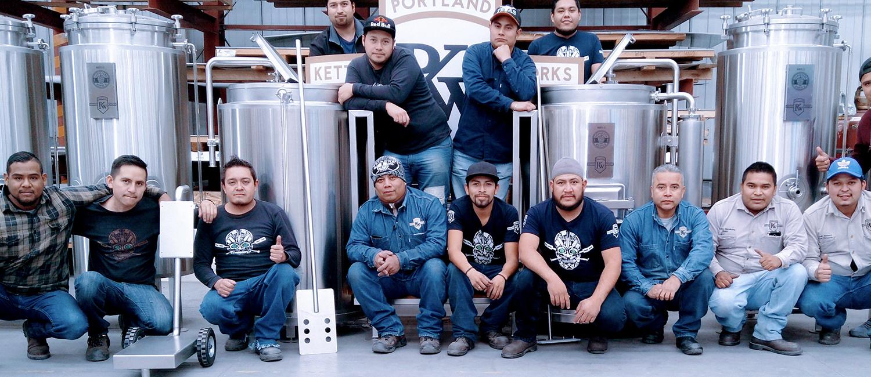 Hop Diablo Two Barrel Micro-Brewhouse
